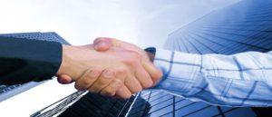 handshake-bridging a divide